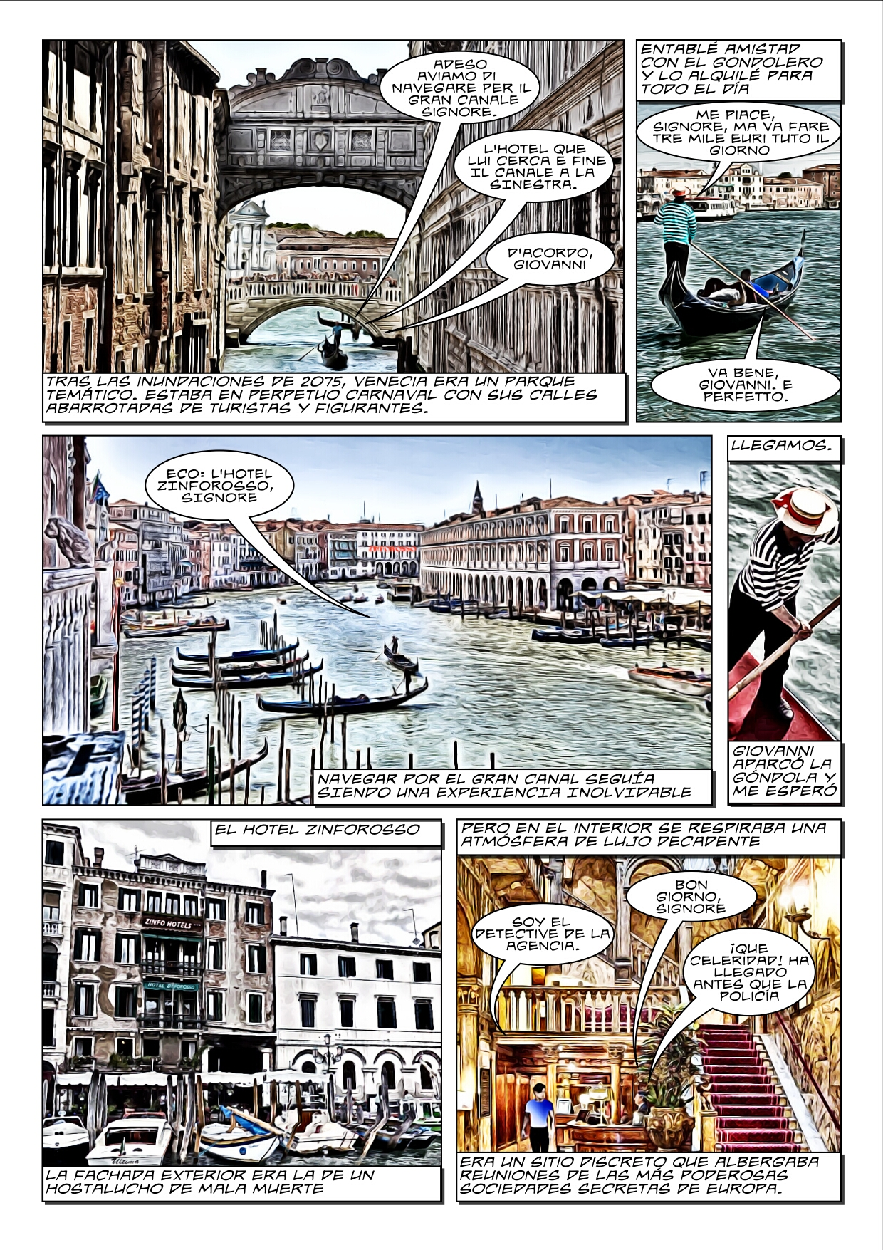 Doble muerte en Venecia, por Eloy Caballero, página 3